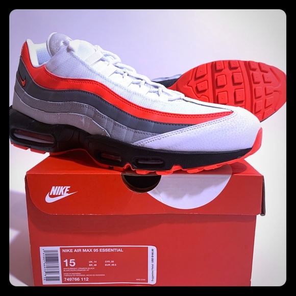 best authentic 3ba8a f6f69 ... Air Max 95 In Size 14 and 15. M 5be1732ba31c33ff304f5369. Other Shoes  you may like. Nike Men s ...